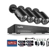 SANNCE 4CH 1080P DVR 4X 1080P Indoor/Outdoor Security Camera Systems