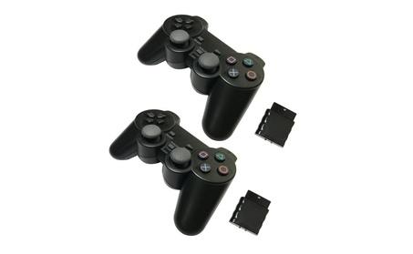 2x For Sony PS2 2.4G Wireless Twin Shock Game Controller Joystick e041dea6-045e-49bd-a66b-aa48dac410cf