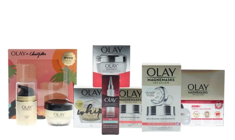 Olay Magnemasks Infusion Rejuvenating, Regenerist Revitalizing Mask or Cream
