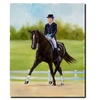 Michelle Moate Horse of Sport IX Canvas Print 18 x 24