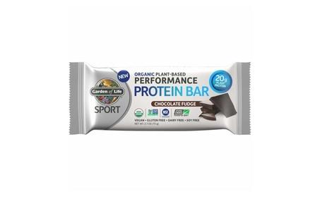 Organic Sport Protein Bar, Vegan, Chocolate Fudge, 12 Count