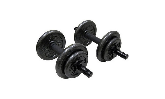 a67f4dd6d42 Gold s Gym Adjustable Cast Dumbbell Set