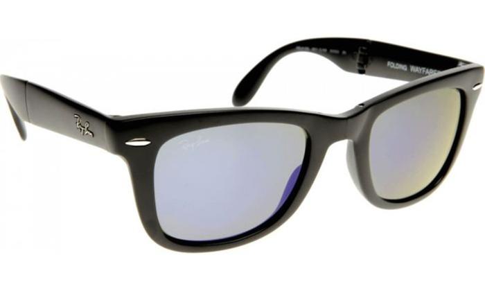 6cab9fd3e0 Ray-Ban Folding Wayfarer Mens Sunglasses RB4105-601 58-50