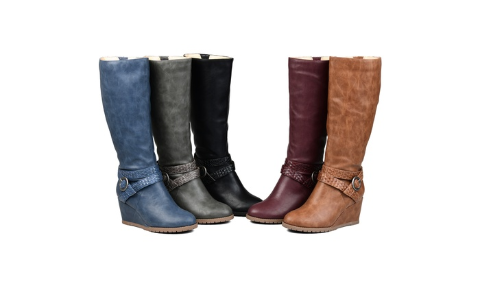 0e974c73ebe32 Journee Collection Womens Comfort Extra Wide Calf Garin Boot | Groupon