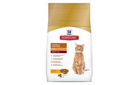 Hill's Science Diet Hairball Control Dry Cat Food dd1d4a8e-e852-4574-a277-f929f1e590b7