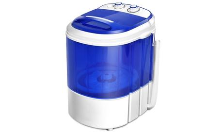 Costway Small Mini Portable Compact Washer Washing Machine 7lbs photo
