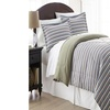 Micro Flannel  Printed Full/Queen Comforter With 2 Standard Shams