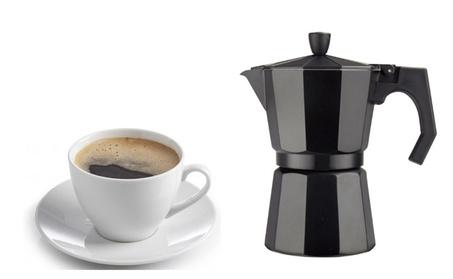 New Black 3 Cup Cast Aluminum Espresso Maker 9f4a762b-7dd4-4cf2-81bb-7477e0ea0a31