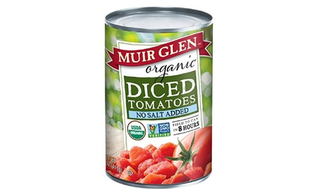 Muir Glen, Organic Diced Tomatoes, No Salt Added, 14.5 oz c64a2f9b-04c9-4daf-a5a6-8979ad780d0f