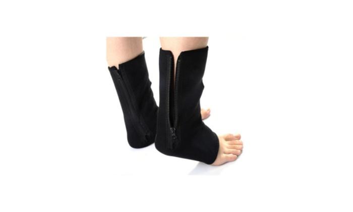 Adjustable Ankle Foot Compression Sprain Brace