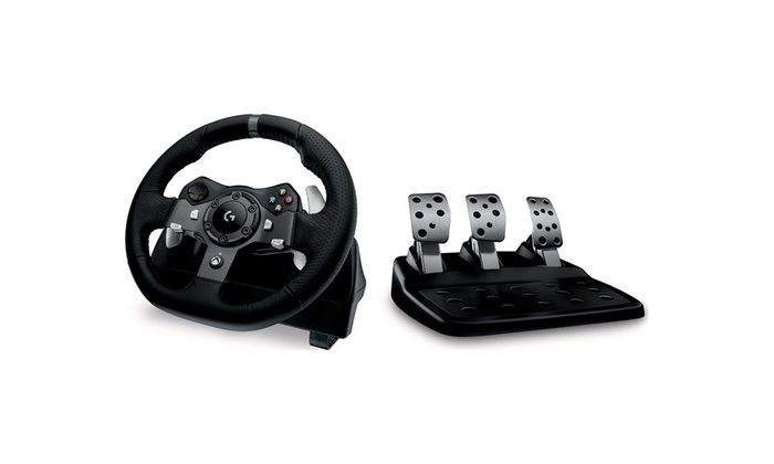5bb8dc8f01f Logitech G920 Driving Force Racing Wheel & Pedals for XBOX ONE/PC -  REFURBISHED
