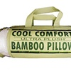 Cool Comfort Bamboo Covered Memory Foam Pillow - Queen