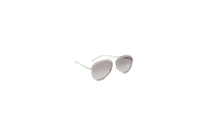 80ee2054eb06 Fendi Women s Funky Angle Aviator Sunglasses
