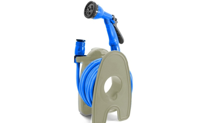 New Outdoor Gardening Accessories Patio Garden Hose Pipe With Reel Stand
