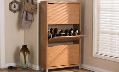 Shop Groupon Simms Modern Shoe Cabinet
