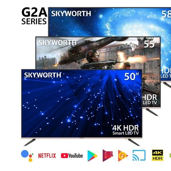 Skyworth G2A Series Quad-Core Android 4K LED Smart TV