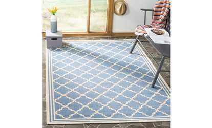 Groupon Safavieh Shades Of Blue Linden Area Rugs