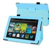 Insten Blue Stand Leather Case For Kindle Fire HD 7 2nd Gen 2013
