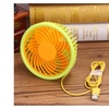 Mini USB Fan SummerRechargeable Quiet 4 Level Speed Wind Air Cooling