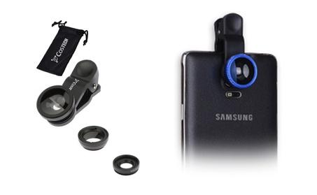 3in1 Clip on Camera Lens Kit Universal HD 180 Degree Fisheye 0.67X bff89fd2-0d9f-4ce4-ac05-f7c9d80e41c6