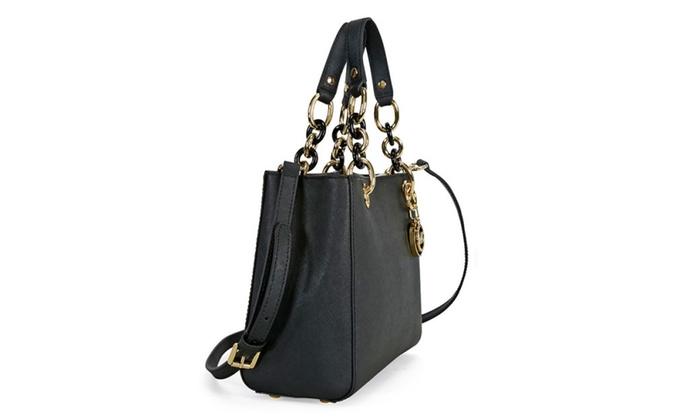 9f85c482b63b ... sale michael kors cynthia small saffiano leather satchel michael kors  cynthia small saffiano leather satchel 13be0