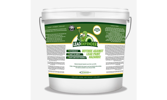 ECOBOND ELDS141705 5 Gallons Lead Defender Off White