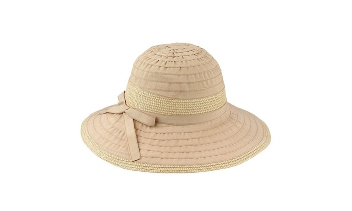 4b280a50fc195 AccessHeadwear Sun Styles Karol Ladies Packable Sun Hat for Hiking Beach