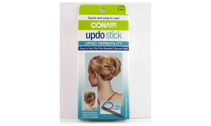 Wondrous Conair Updo Stick 1 Piece Groupon Hairstyles For Men Maxibearus