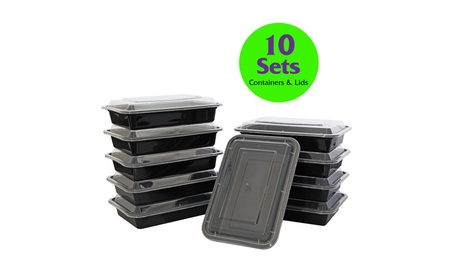 Reusable Single Compartment Container with Clear Lid, 28 oz. de4c82be-3af4-44c1-9f3e-307eb1969070