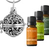 Marquee Beauty Essential Oils and Diffuser Necklace Kit (13-Piece)