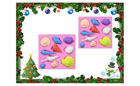 Silicone Shell Shape Fondant Cake Chocolate Decor Buy One Get One Free 450f4347-0833-42ae-9a5f-1f030287c661