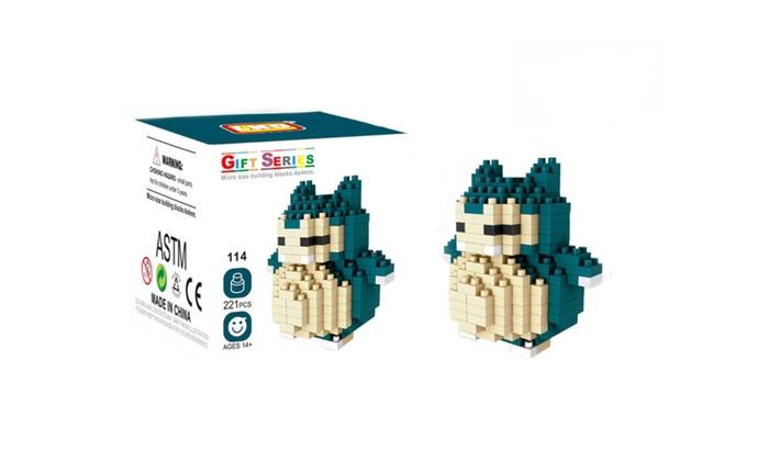 up to 55 off on wise hawk mini blocks pokemon groupon goods