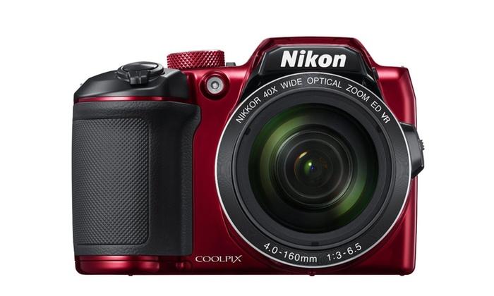 Nikon COOLPIX B500 16MP 40x Optical Zoom Camera w/ Built-in Wi-Fi