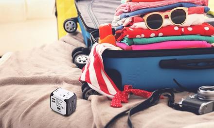 Adattatore da viaggio con porte USB