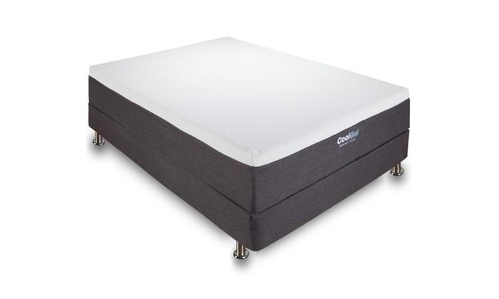 Modern Sleep Cool Gel Memory Foam 12 Inch Mattress Groupon