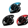 Over Ear Hi-Fi Stereo Wilress Foldable Headphones Soft Memory  Earmuffs