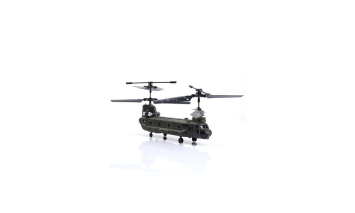 Syma S026G 3 Ch Remote Control Mini Chinook Rc Helicopter with Gyro