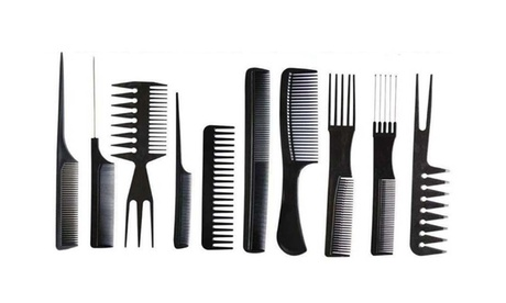 Professional Styling Comb Set Great for All Hair Types & Styles (10 units) c438cbf9-ae7e-4887-990e-ed86c50de148