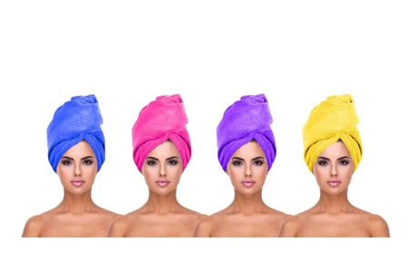 Women's Microfiber Hair Drying Turbans 3179d83c-d9ce-4a44-8743-f1a64d8ee533