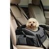 Iconic Pet 51710 FurryGo Luxury Pet Booster Seat Dark Grey - Large