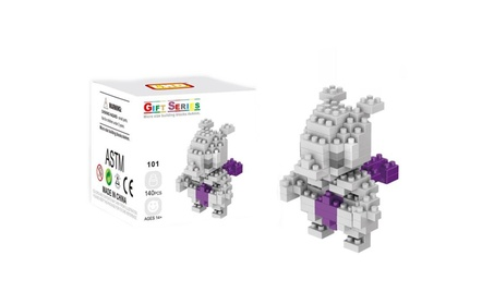 LNO Anime Pokemon Mewtwo Nano Block Diamond Mini Building Toys Pocket 75f495cf-5490-4633-9bd0-6f6285b6e796