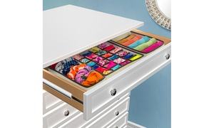 Collapsible Drawer Organizers Set (4-Piece)