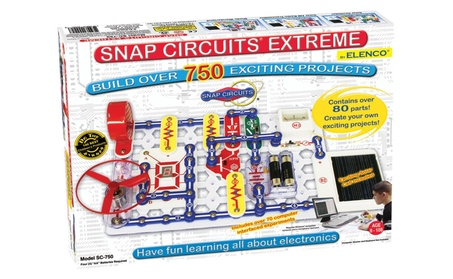 Snap Circuits Extreme SC-750 Electronics Discovery Kit 9900dcf8-8411-4055-b922-3c087b064724