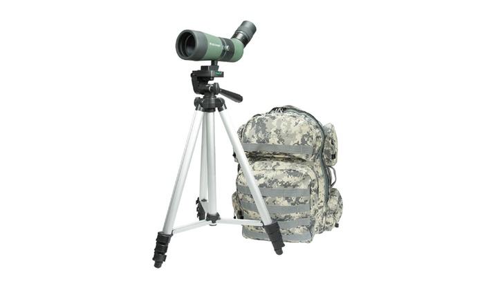 Celestron LandScout 10-30x50 Backpack/Tripod Kit-Olive Green