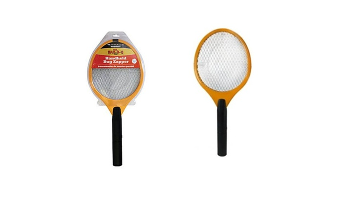 Handled Bug Zapper Kill Mosquitoes Fly Bug Perfect for Swatting Files