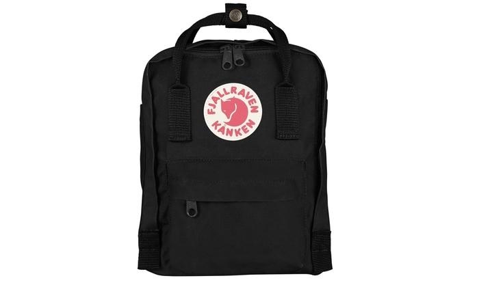 45e84212b Fjallraven - Kanken Mini Backpack - Black | Groupon