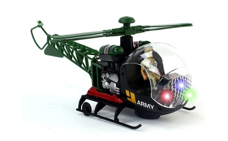 Warhawk Bump & Go Battery Operated Toy Helicopter 555a6226-ab65-4f34-a067-5410cb3a3401
