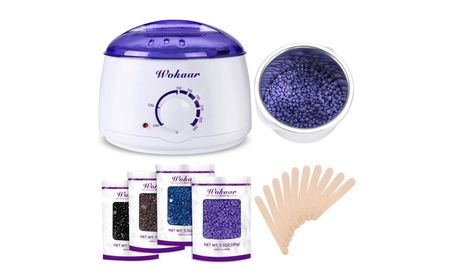 Wokaar Wax Warmer Hair Removal Waxing Kit 86e72929-b324-4e9a-9eeb-e7b44b2dca82