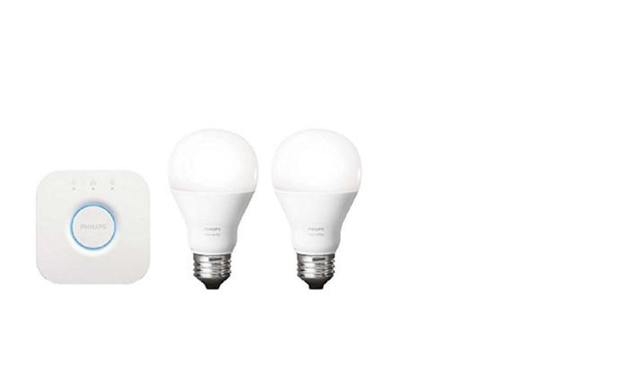 Philips 455287 Hue White Starter Kit Works with Amazon Alexa