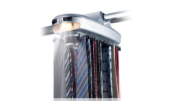 Up to 43 off on smartek motorized tie rack groupon goods for Motorized tie racks for closets